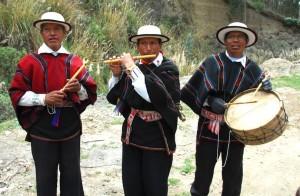 flute + drums