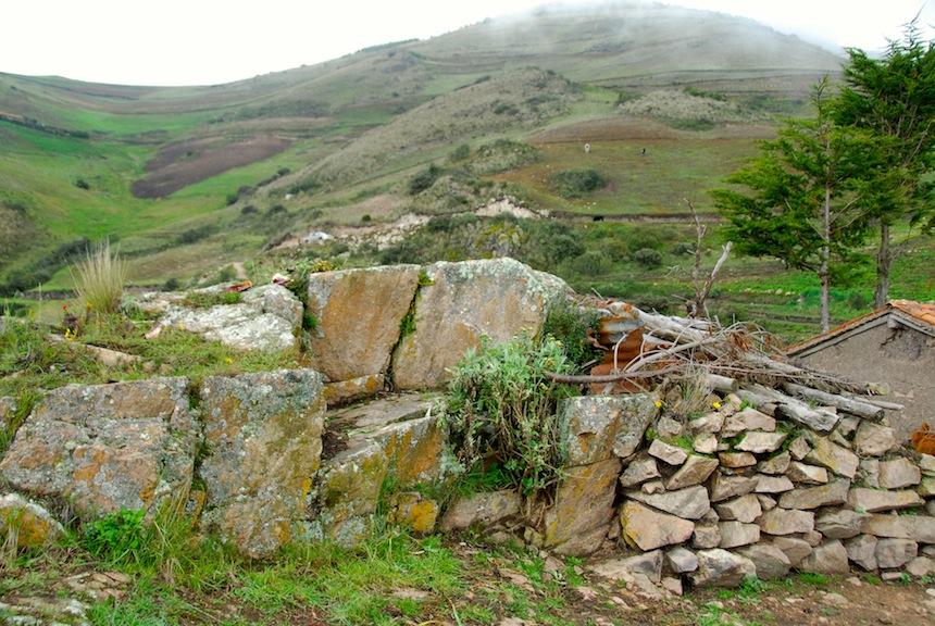 site of rock