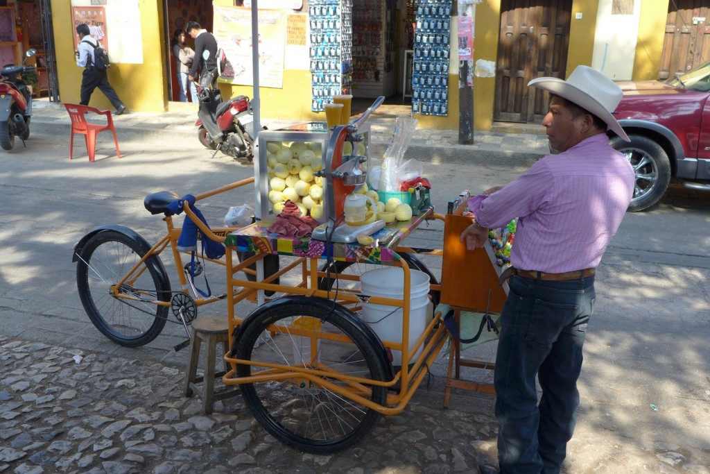 vendor orange